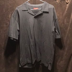 Austin Reed London XL pullover polo used polka dot